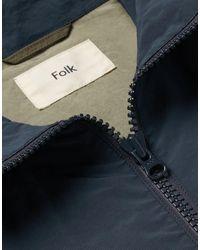 Folk Blue Jacket for men