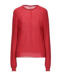 Pullover Rick Owens de color Red