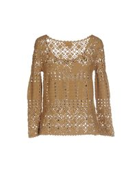 Momoní - Natural Sweater - Lyst