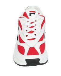 """Sneakers """"venom"""" di Fila in Red da Uomo"""