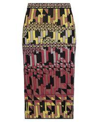 Falda a media pierna M Missoni de color Multicolor