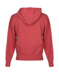 Sun 68 Red Sweatshirt for men
