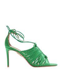 Sandales Aquazzura en coloris Green