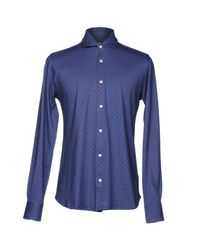 Fiorio - Blue Shirt for Men - Lyst