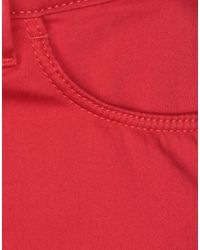 Tommy Hilfiger Red Casual Pants