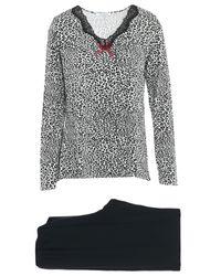 Pijama Verdissima de color Black