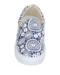 Chiara Ferragni Blue Low-tops & Sneakers