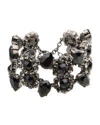 Roberto Cavalli   Black Bracelet   Lyst