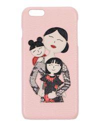 Dolce & Gabbana Pink Hi-tech Accessory