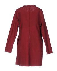Alpha Studio Red Overcoat