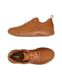 Camper Brown Low-tops & Sneakers