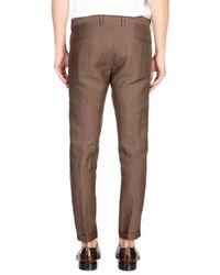 Exibit Brown Casual Pants for men