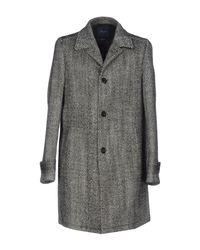 Drumohr - Black Coat - Lyst