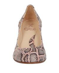 Fabi Pink Ballet Flats