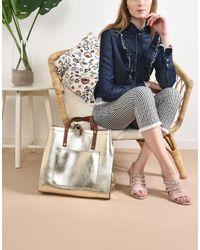 8 - Metallic Handbag - Lyst