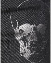 Philipp Plein Black Jeanshose
