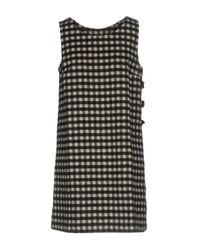 Scee By Twin-set Black Short Dress