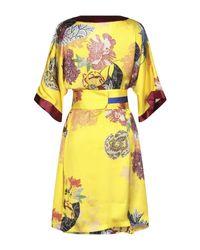 Vestito al ginocchio di Hanita in Yellow