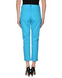 Marani Jeans Blue Casual Pants