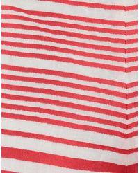 Short DSquared² en coloris Red