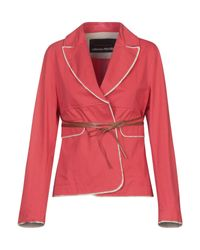 Collection Privée Red Suit Jacket