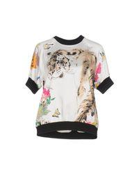 Roberto Cavalli White T-shirt
