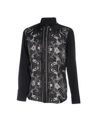 Just Cavalli Black Shirt for men