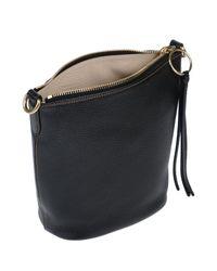 Bolso con bandolera COACH de color Black