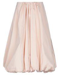 Jupe mi-longue Simone Rocha en coloris Pink