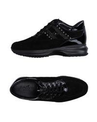 Hogan Black Low-tops & Sneakers