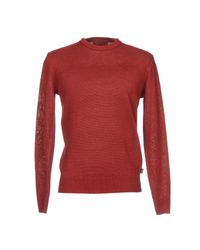 Pullover Armani Jeans de hombre de color Red