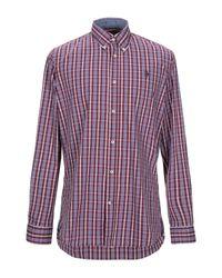 Camicia di U.S. POLO ASSN. in Purple da Uomo
