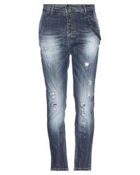 KLIXS Blue Denim Pants for men