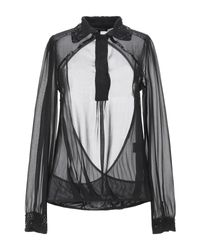Patrizia Pepe Black Bluse