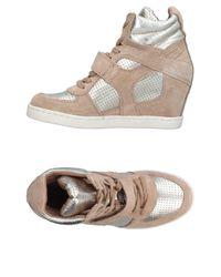 Ash Natural High-tops & Sneakers