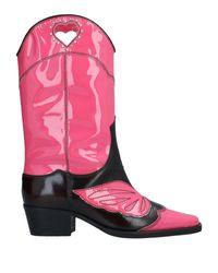Stivaletti di Ganni in Pink