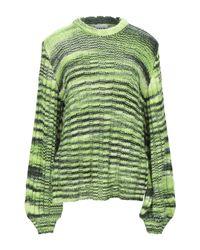 Pullover Ganni de color Green