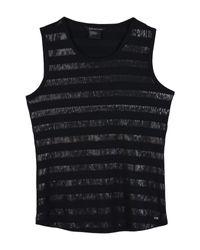 Top di Armani Exchange in Black
