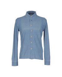 Chemise Heritage pour homme en coloris Blue