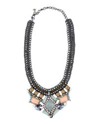Nocturne | Green Necklace | Lyst