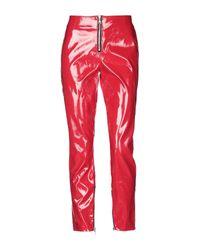 Pantalones RTA de color Red