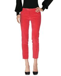 TRUE NYC Red Casual Pants