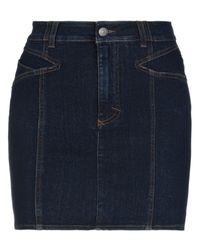 Jupe en jean Givenchy en coloris Blue