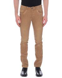 Pantalone di 40weft in Brown da Uomo