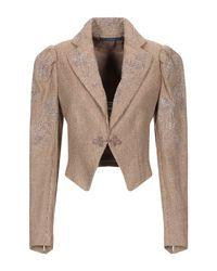 Veste Polo Ralph Lauren en coloris Brown