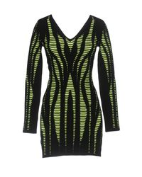 Philipp Plein Green Short Dress