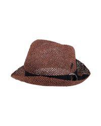 Sombrero Muhlbauer de hombre de color Brown