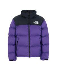 Piumino di The North Face in Purple da Uomo