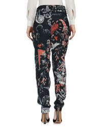 Vivienne Westwood Anglomania Blue Casual Pants