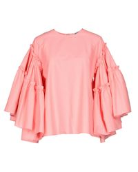 MSGM Pink Blouse